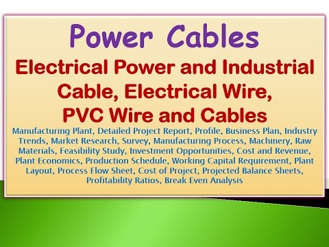 Power Cables, Electrical Power & Industrial Cable, Electrical Wire, PVC Wire and Cables