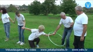 Līvānu novada pašvaldības darbinieki piedalās nenopietnajās sporta spēlēs
