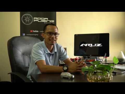 Perodua Aruz 2019 Pengenalan & Pandu Uji Terhad  - Roda Pusing Wacana