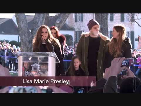 Elvis Presley's 80th Birthday: Priscilla Presley, Lisa Marie Presley and Presley family