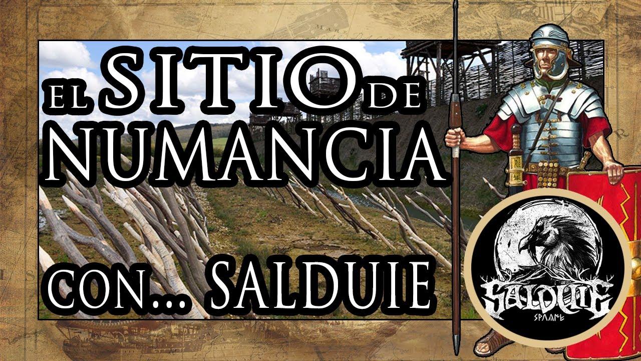 El Asedio de Numancia ⚔️🛡️Ft. @Salduie  (Explicación Numancia y Caraunios de Salduie)