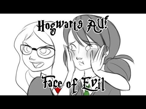 Miraculous Ladybug Comic Dub] Hogwarts AU! | Face of Evil - YouTube