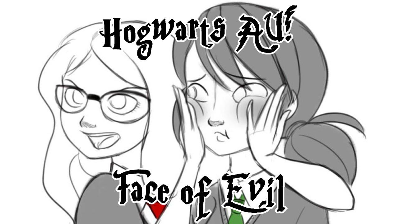 [Miraculous Ladybug Comic Dub] Hogwarts AU! | Face of Evil
