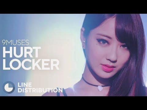9MUSES - Hurt Locker (Line Distribution)