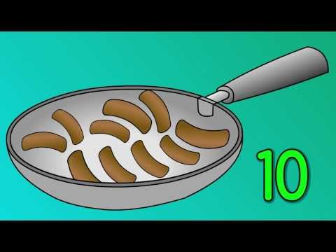 10 Fat Sausages - Counting Song