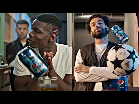 MESSI MOSALAH STERLING PAUL POGBA PEPSI CAN BALANCE