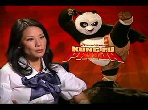 Lucy Liu interview for the movie Kung Fu Panda