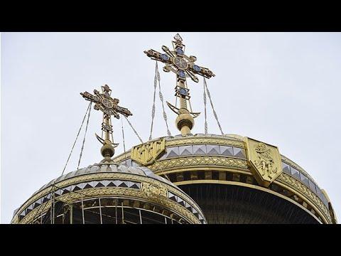 Виды с будущей смотровой площадки Главного храма ВС РФ