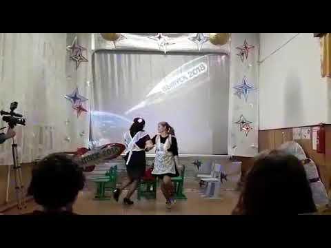 Выпускной 4А класс. Школа 4. Спасск -Дальний. Сценка родителей.