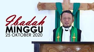 Ibadah Minggu 25 Oktober 2020 untuk Umum (Ibadah Pembukaan Pekan Pemuda GKJW)