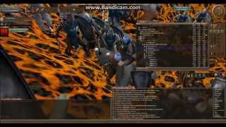 Wurm online: The battle for the Wall of Phlegethon