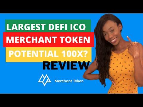Merchant Token | Potential 100x Crypto | Largest Defi ICO 2021