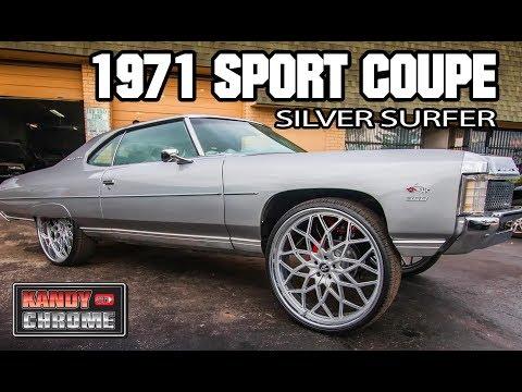 KandyonChrome: 1971 Impala Sport Coupe Silver Surfer