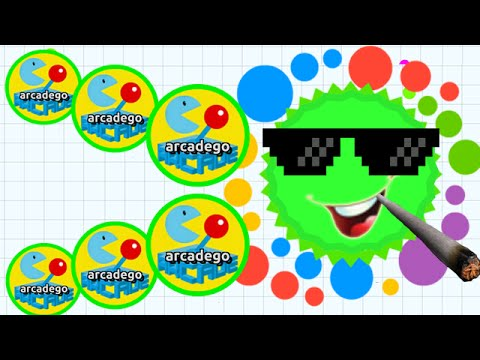 Agario the game unblocked gameplay trailers com