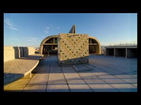 Unité d'Habitation Marseille roof landscape