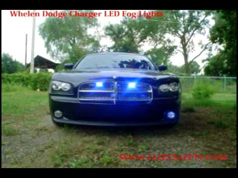 Whelen Dodge Charger Led Fog Lights Fedc06 Youtube