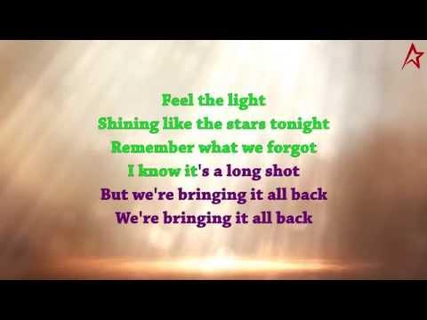Jennifer Lopez - Feel The Light (Karaoke Version)