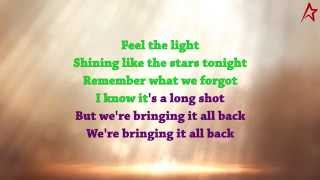 Jennifer Lopez - Feel The Light (Karaoke Version)