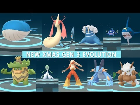 Download Youtube: Best of Gen 3 Evolution Ludicolo, Wailord, Milotic, Gardevoir, Slaking And more!