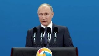Putin: Russia salutes China's initiative