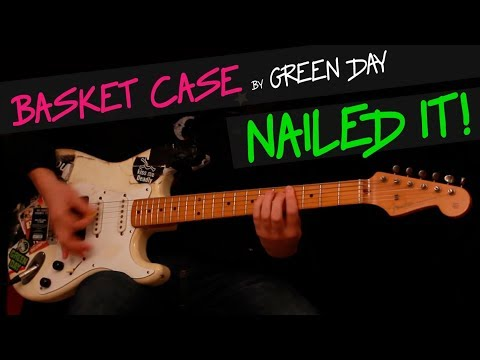 Basket Case - Green Day guitar cover by GV + chords