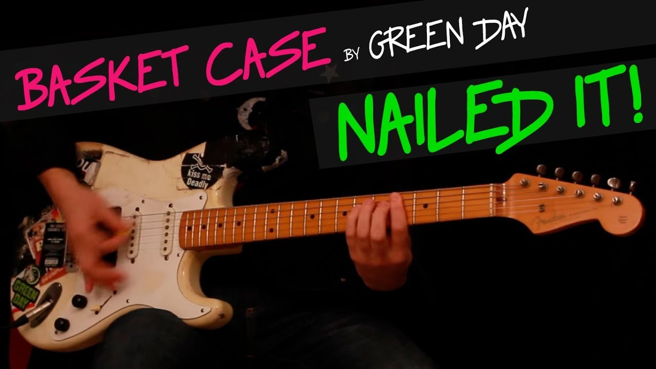 Basket Case Green Day Guitar Cover By Gv Chords Youtube