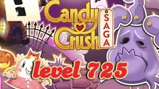 Candy Crush Saga Level 725 - ★