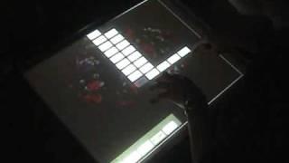 QuteMol multi-touch implementation