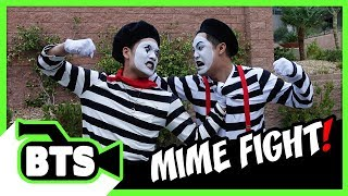 Making an Epic Mime Fight! (BTS)