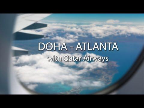 Atlanta Travel Diary   Qatar Airways' Inaugural Flight