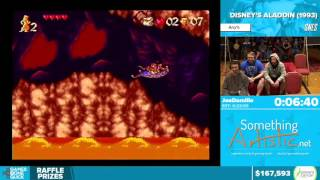 Disney's Aladdin by JoeDamilio in 17:39 - Awesome Games Done Quick 2016 - Part 24