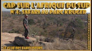 CAP SUR L'AFRIQUE DU SUD N°4: Safari au Parc Kruger...(Carnet de voyage 2017).