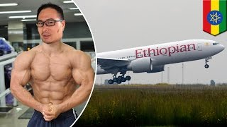 Bodybuilder  Chinese bodybuilder tackles hijacker who threatened to crash plane   TomoNews