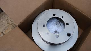 Lancer 9. Замена задних тормозных дисков, колодок, направляющих супортов.