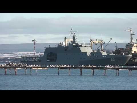 "OPV 83 ""Marinero Fuentealba"" Punta Arenas Chile 2015"