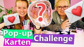DIY Pop-up Karten CHALLENGE mit Eva & Kathi | Muttertags Ideen in 10 Minuten | Inspiration deutsch