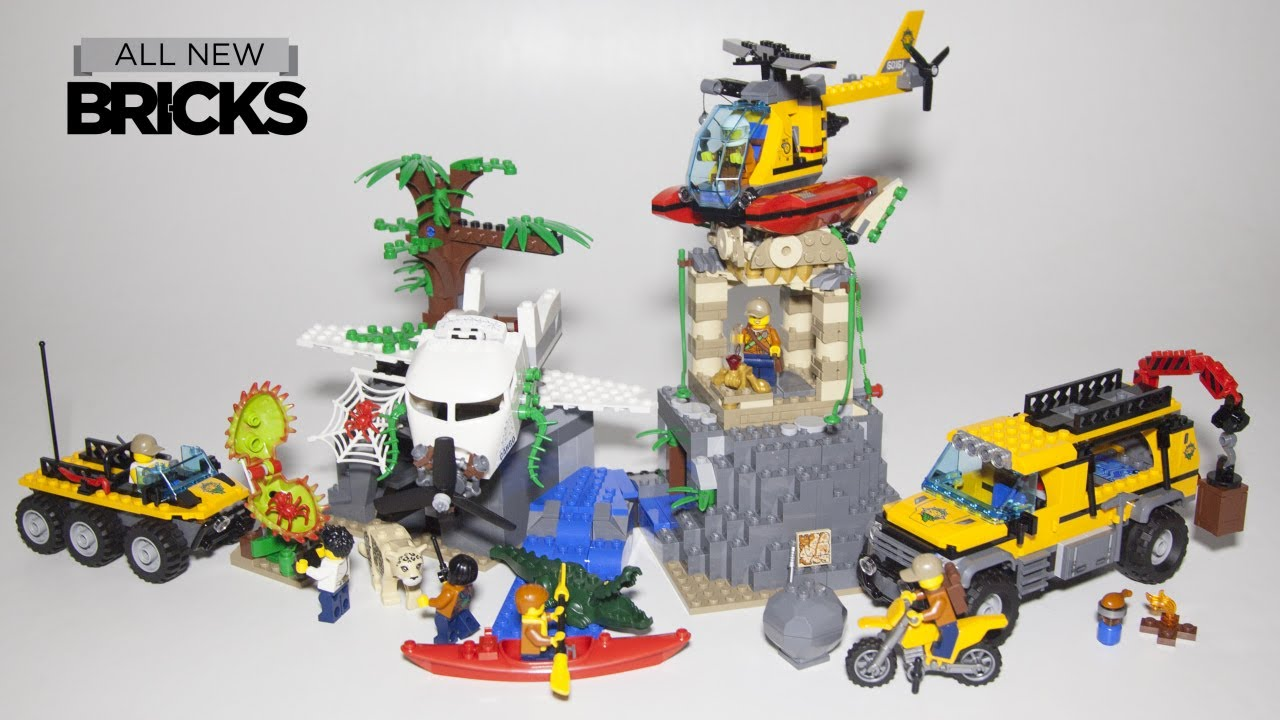 Lego City 60161 Jungle Exploration Site Speed Build Youtube