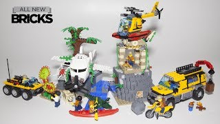 Lego City 60161 Jungle Exploration Site Speed Build