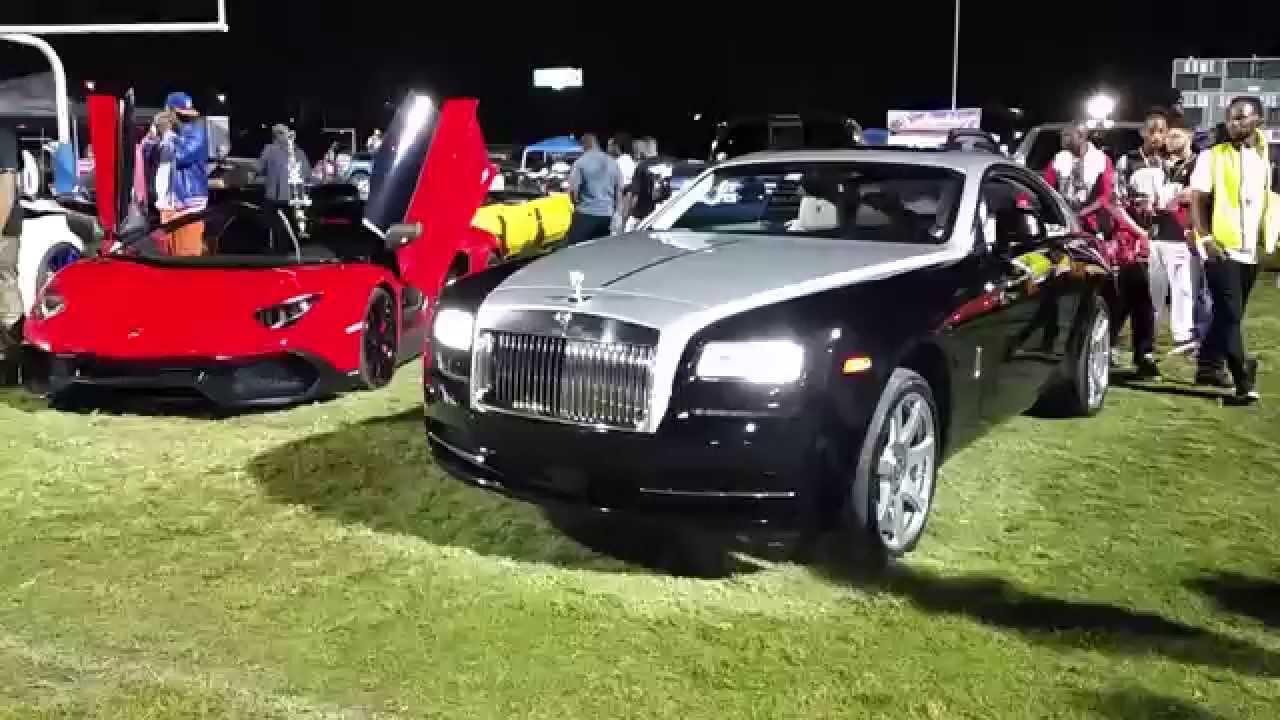 Riding Big Car Show Eatonville Orlando Florida Rolls - Car show orlando fl
