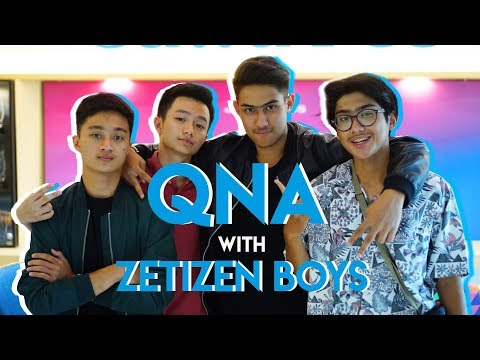 QNA WITH ZETIZEN BOYS 2K17