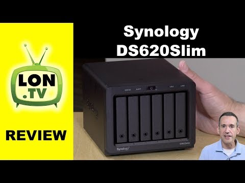 Smallest 6 Bay NAS! Synology DS620Slim Review