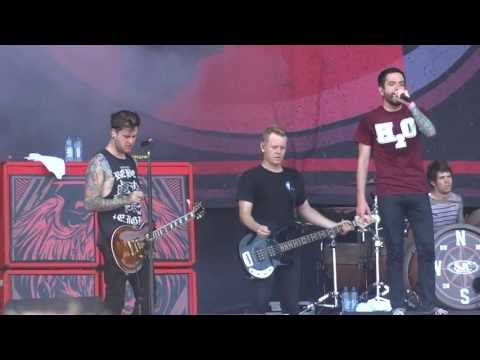 A Day To Remember - You Should've Killed Me When You Had The Chance live @ Rock Werchter 2013
