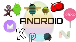 All android versions easter eggs all android version from 1 to 10