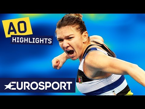 Simona Halep vs Venus Williams Highlights | Australian Open 2019 Round 3 | Eurosport