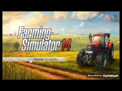 Farming Simulator 14 corn harvest episode 1