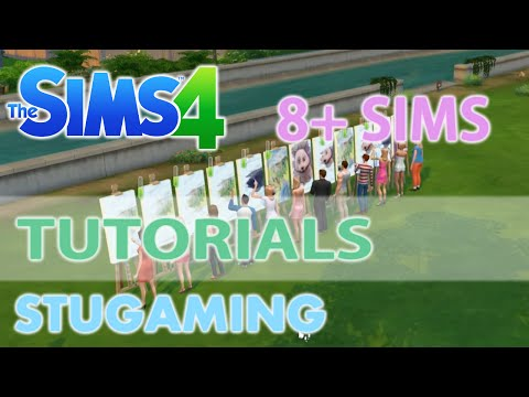 The Sims 4 | MOD Tutorial | More than 8 Sims in Active Household