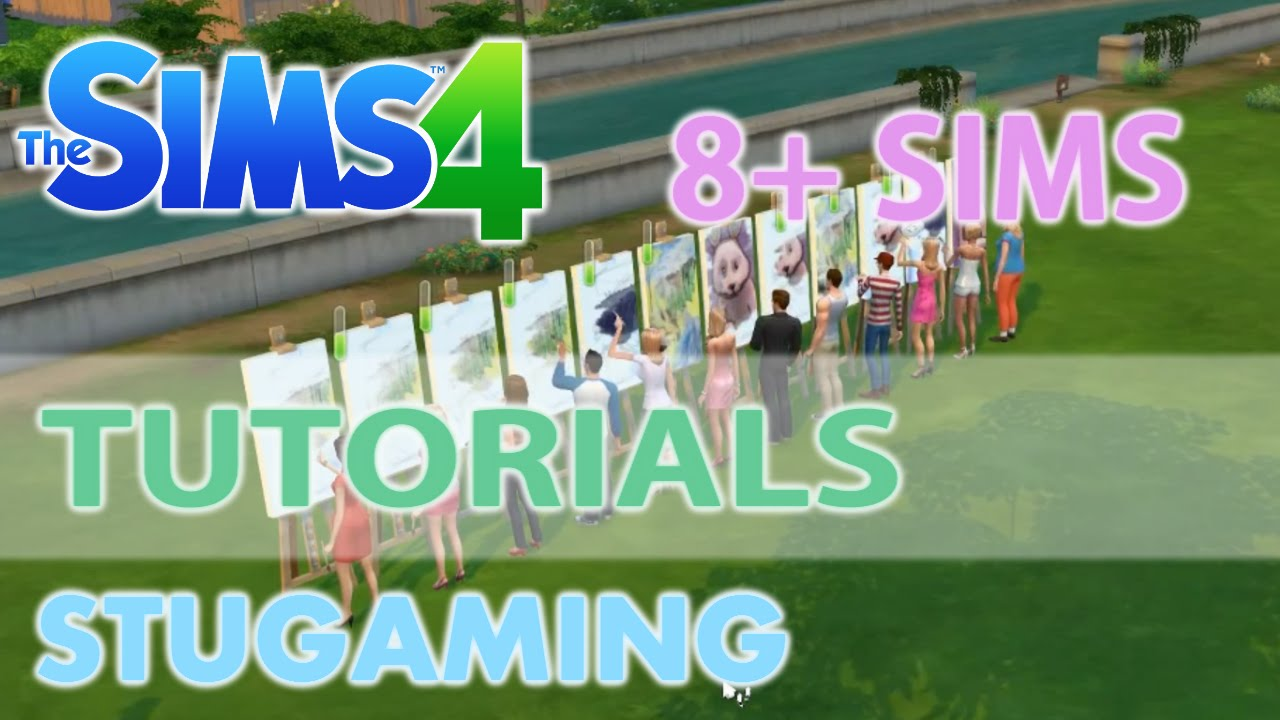 The Sims 4 | MOD Tutorial | More than 8 Sims in Active Household ...