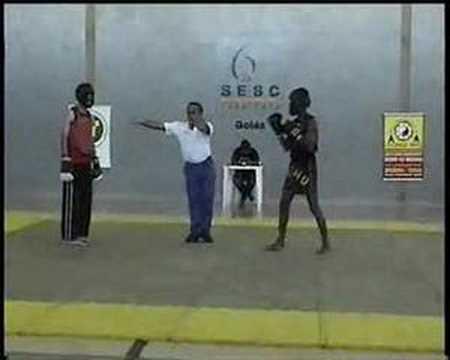 Edicarlos Guimarães- Campeonato Goiano de Kung Fu/Wushu 2007