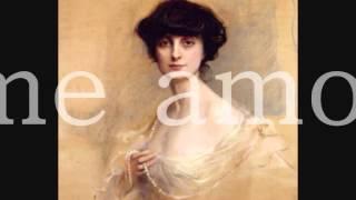 Anna de Noailles, Mon âme amoureuse