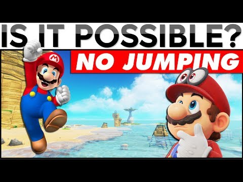 BEATING MARIO ODYSSEY WITHOUT JUMPING | Is It Possible? (Livestream)